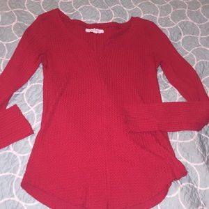 Aeropostale size small red top